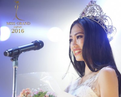 Ayaka Sato crowned as Miss Grand Japan 2016