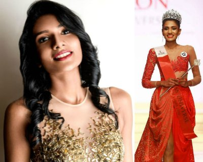 Sri Lanka's bet at Miss Universe 2016 is the stunning Jayathi De Silva