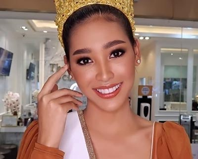 Sawitree Fonthong crowned Miss Grand Lopburi 2020 for Miss Grand Thailand 2020