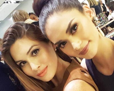 Pia Wurtzbach and Gabriela Isler - When the Queens of the Universe Met