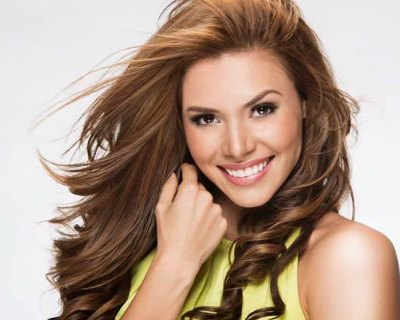 Carolina Rodriguez Duran of Costa Rica wishes for the Miss Universe 2016 crown