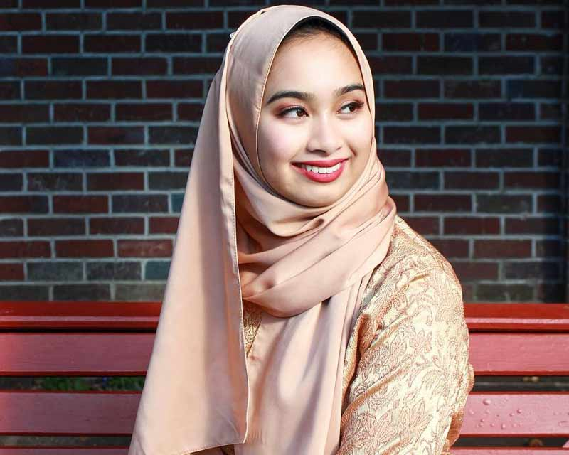 Nurul Shamsul first ever finalist to wear Hijab at Miss Universe New Zealand 2018