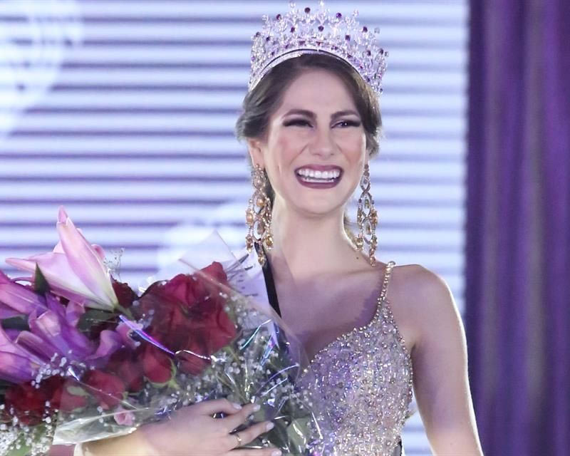 Andrea Merodio crowned Mexicana Universal Nuevo León 2017 for Mexicana Universal 2018