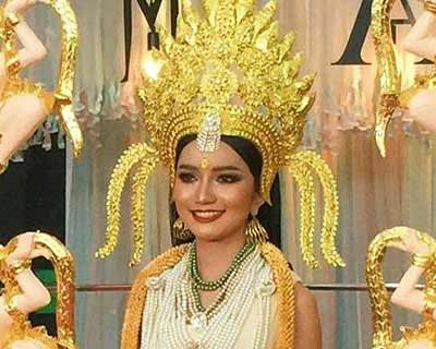 "Cambodia's Somnang Alyna to wear ""Indra Devi"" inspired costume for Miss Universe 2019"