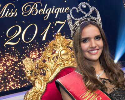 Romanie Schotte crowned as Miss België 2017