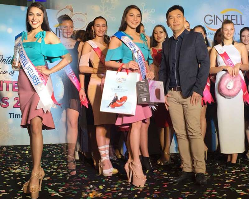 Jannie Loudette of Philippines wins Miss GINTELL Wellness Award at Miss Tourism International 2017