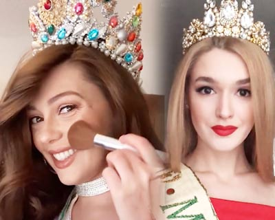 Miss Earth 2019 delegates spread virtual solidarity doing the 'Don't rush challenge'