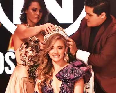 Jessica Jimenez of San José crowned Miss Mundo Costa Rica 2019