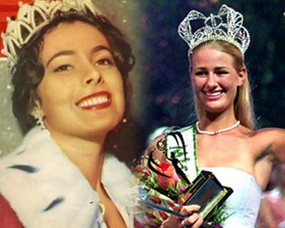 First Queens of the Major International Beauty Pageants