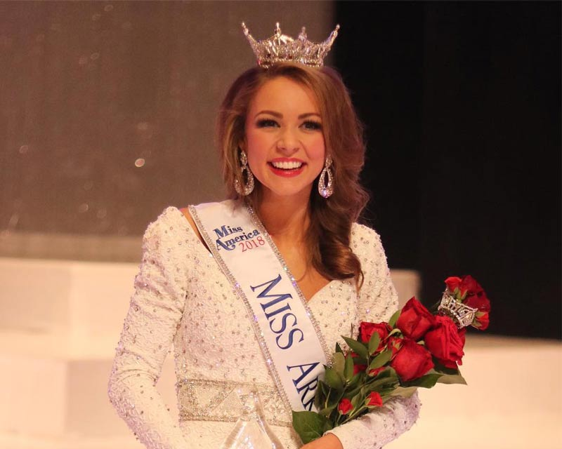 Claudia Raffo crowned Miss Arkansas 2018