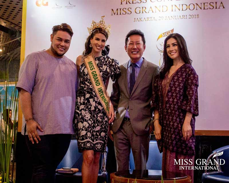 Indonesia to host first ever Miss Grand Indonesia pageant in 2018!