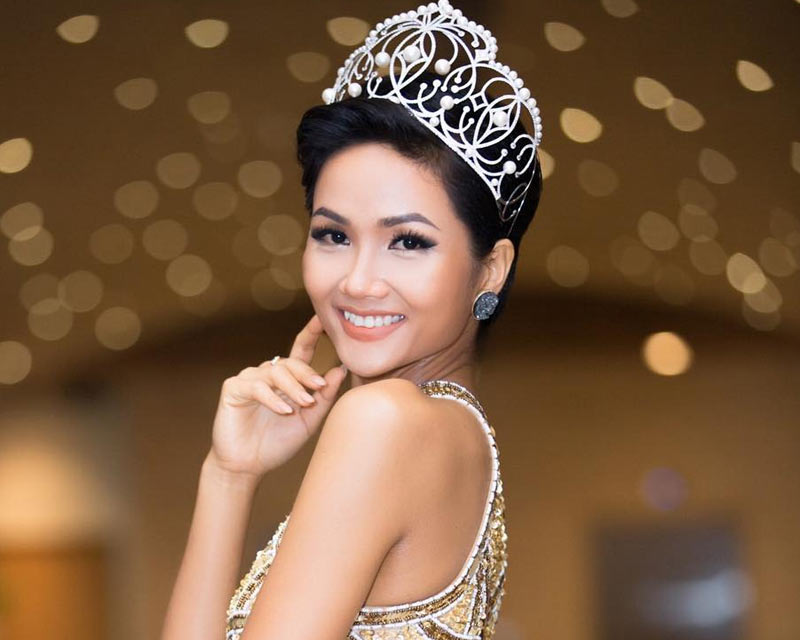 The girl who inspires and aspires – Miss Universe Vietnam 2017 H'Hen Niê