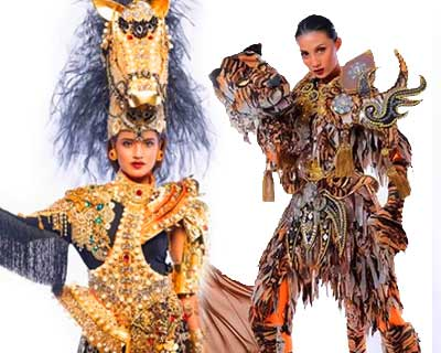 Who will win Best in National Costume award for Puteri Indonesia 2020?