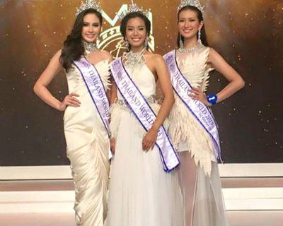 Thunchanok Moonnilta crowned Miss Thailand World 2015