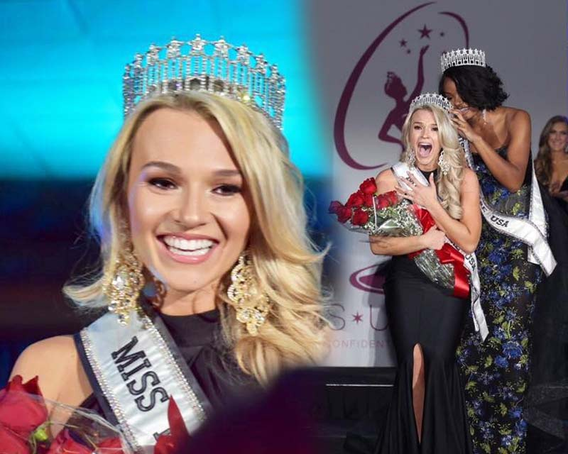 Sierra Wright crowned Miss Delaware USA 2018 for Miss USA 2018