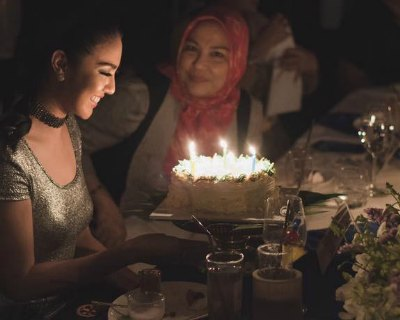 Ariska Putri Pertiwi enjoys Birthday Bash with family and friends