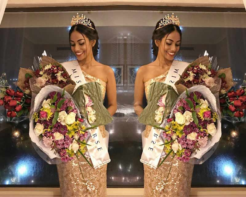 Christina Peiris elected Miss Universe Sri Lanka 2017