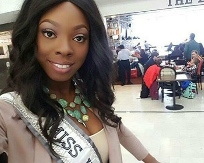 Soyini Fraser competing as Guyana for Miss Universe 2016