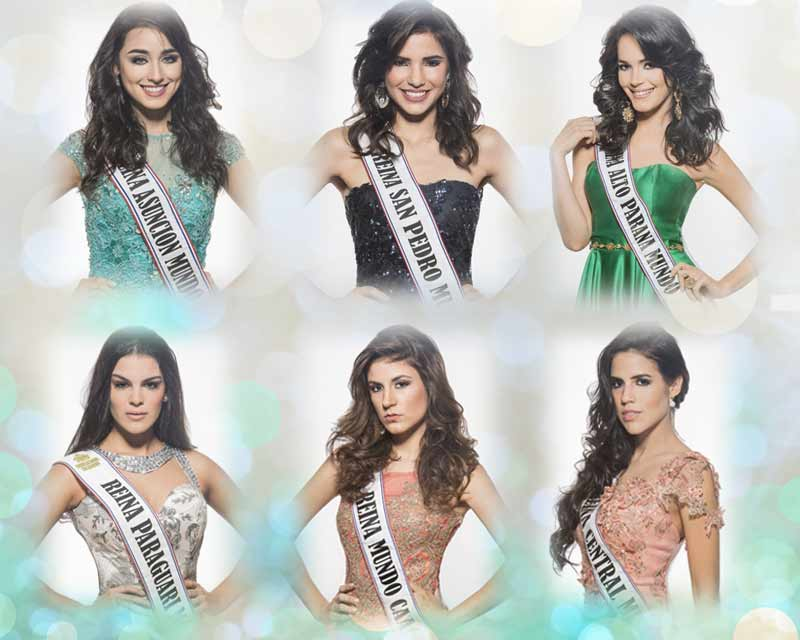 Miss World Paraguay 2017 Top 6 Favorites
