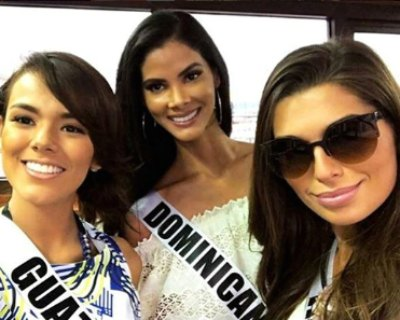 Miss Universe 2016 contestants at JPark Island Resort and Waterpark