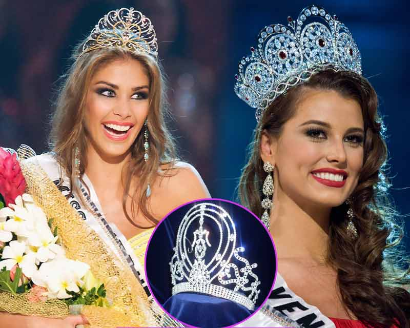 Evolution of Miss Universe crowns through the years