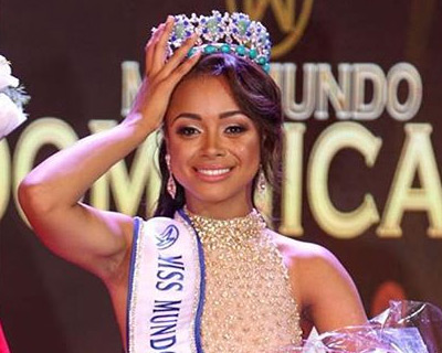 Denise Romero crowned Miss World Dominican Republic 2018