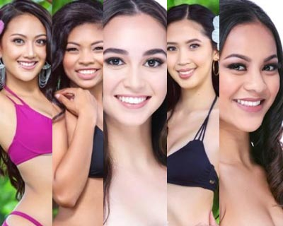 Miss World Guam 2016 Top 5 Hot Picks
