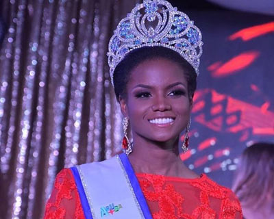 Miss World Aruba 2018 Nurianne Arias Helder
