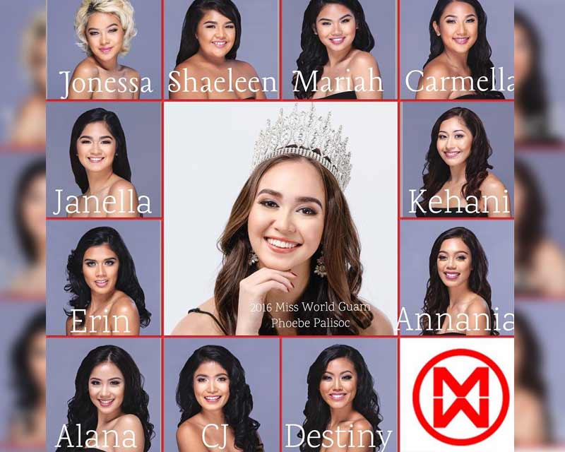 Meet the contestants of Miss World Guam 2017