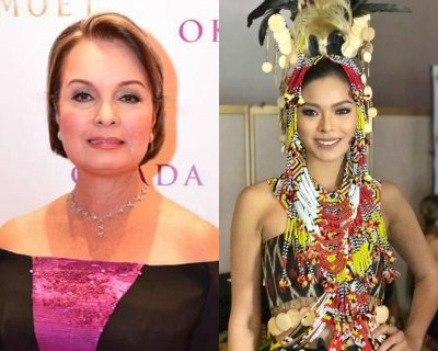 Margie Moran suggests Maxine Medina to be a good hostess and enjoy the moment