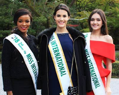 Miss International 2018 Top 5 bid adieu to Tokyo as they return home