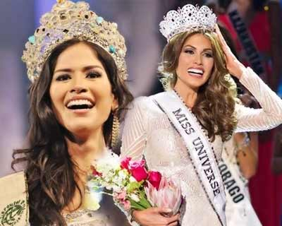 First crowned South American queens at Big 4 major beauty pageants in the decade (2011-2020)