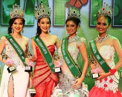 Emily Chung is Miss Sabah Earth 2015 for Miss Malaysia Earth 2015