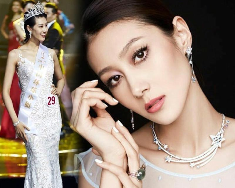Qiu Qiang crowned Miss Universe China 2017