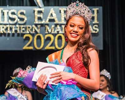 Maria Lael Terlaje crowned Miss Earth Northern Marianas 2020