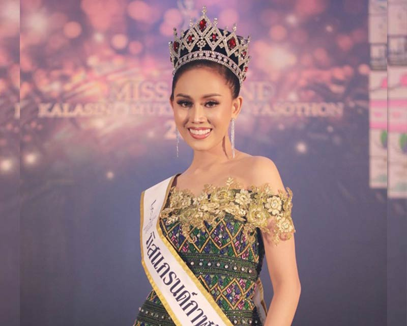 Nattaya Pairin crowned Miss Grand Kalasin 2019 for Miss Grand Thailand 2019