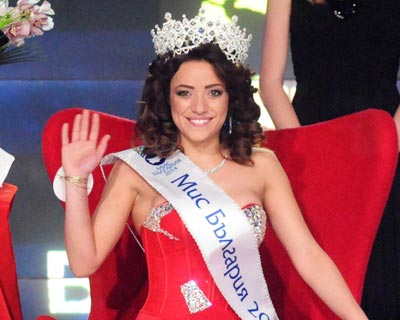 Miss Bulgaria 2014 winner is Simona Evgenieva