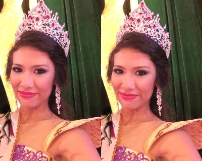 Eaint Myat Chal is Miss Earth Myanmar 2015