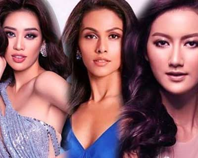 Asian trio of stunning beauties to dominate Miss Universe 2020