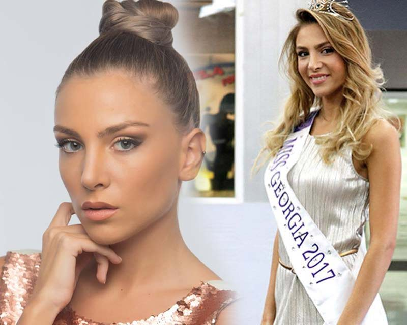 Nia Tsivtsivadze crowned Miss Georgia 2017 for Miss World 2018