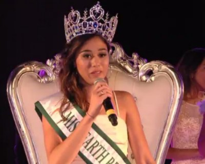 Emma Lauret crowned as Miss Earth Réunion 2017