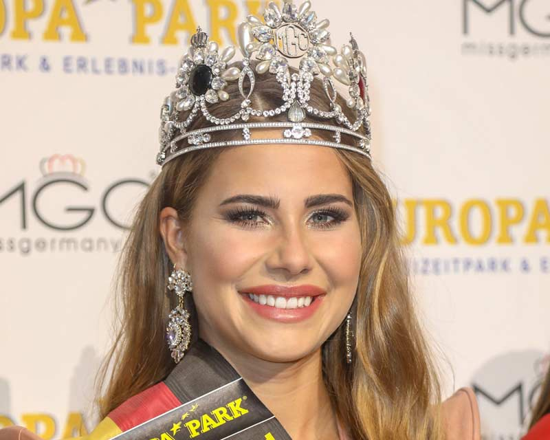 Anahita Rehbein crowned the new Miss Germany 2018