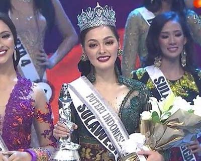 Frederika Alexis Cull crowned Puteri Indonesia 2019 for Miss Universe 2019
