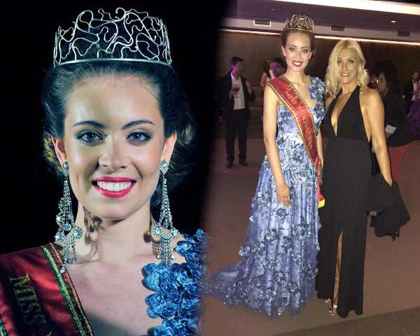 Filipa Barroso crowned as Miss Portuguesa 2017
