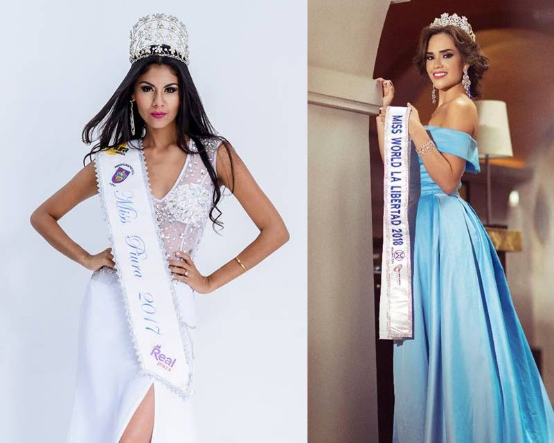 Meet the contestants for Miss World Peru 2018