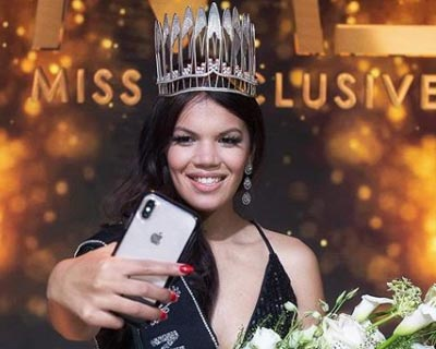 Filipina-Belgian beauty Kimbery Bosman crowned Miss Exclusive 2020