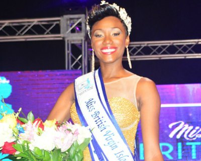 Erika Creque crowned as Miss British Virgin Islands 2016
