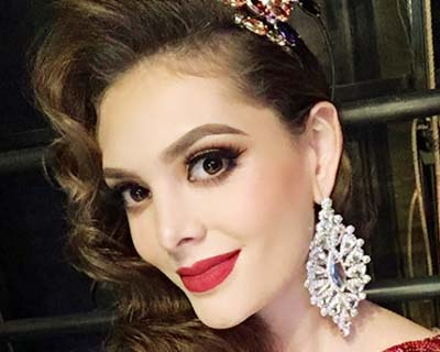Andrea Sáenz Castillo to represent Mexico at Miss Grand International 2020?