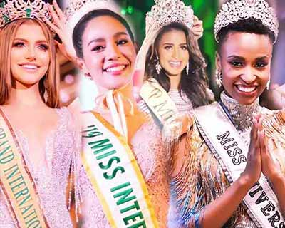 Top Performing Countries of 2019 in Major International Beauty Pageants