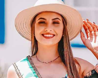 Carol Vinharski of Brazil crowned Miss Tourism International 2020